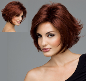 Dark Chocolate Cherry Brown Hair Color