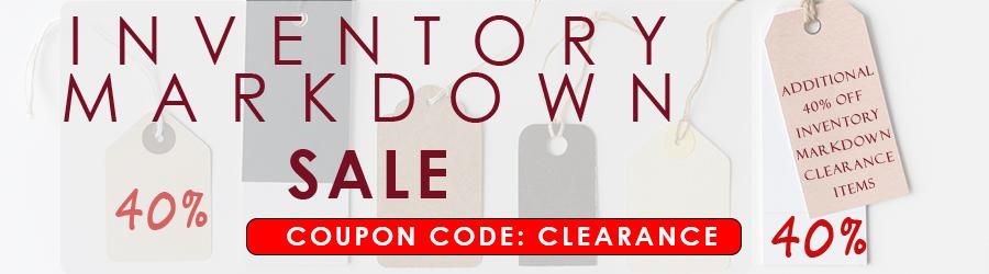 Inventory Markdown Sale at Joshua24.com